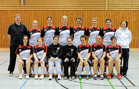 Mannschaftsfoto HSG Dreieich Damen 1