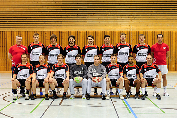 HSG Dreieich Mannschaftsfoto Männer 1
