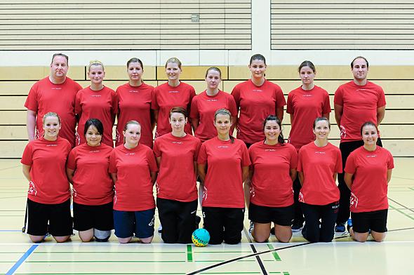 HSG Dreieich Mannschaftsfoto Damen 2