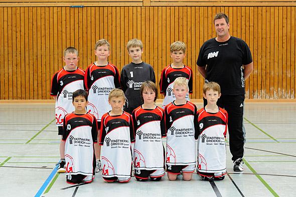 HSG Dreieich Mannschaftsfoto männliche E-Jugend 2