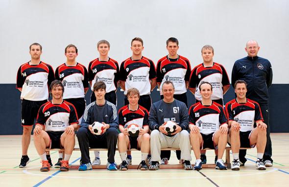HSG Dreieich Mannschaftsfoto Männer 2