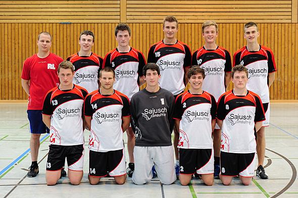 HSG Dreieich Mannschaftsfoto männliche A-Jugend 1