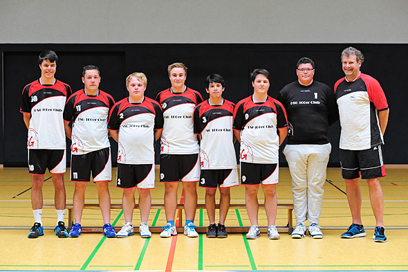 HSG Dreieich Mannschaftsfoto männliche A-Jugend 2