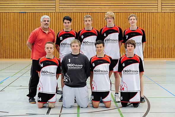 HSG Dreieich Mannschaftsfoto männliche B-Jugend