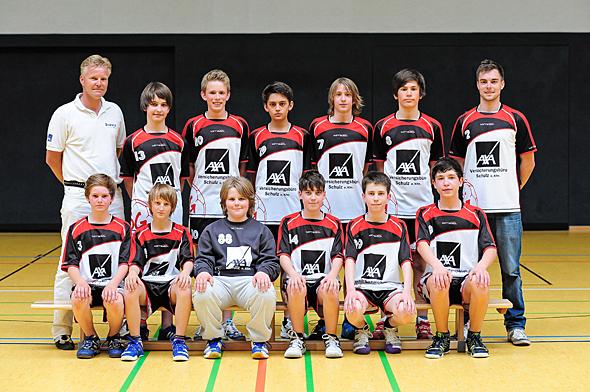 HSG Dreieich Mannschaftsfoto männliche C-Jugend 2
