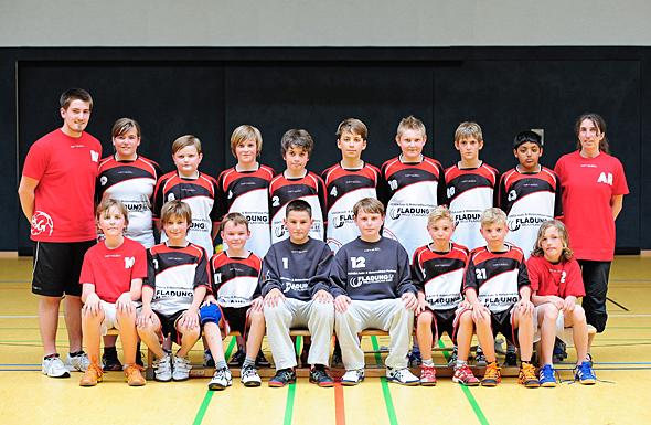 HSG Dreieich Mannschaftsfoto männliche D-Jugend 1