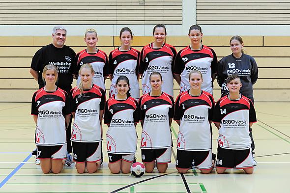 HSG Dreieich Mannschaftsfoto weibliche A-Jugend
