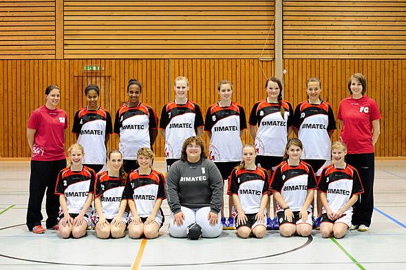 HSG Dreieich Mannschaftsfoto weibliche B-Jugend