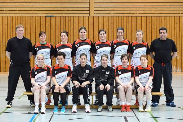 Damen 1 Mannschaftsbild 2013