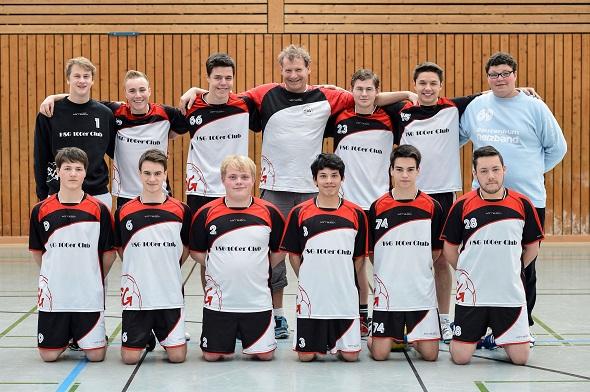 männliche A-Jugend Mannschaftsbild 2013