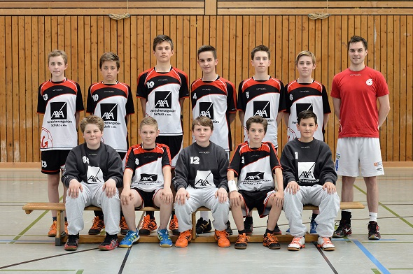 männliche C-Jugend Mannschaftsbild 2013