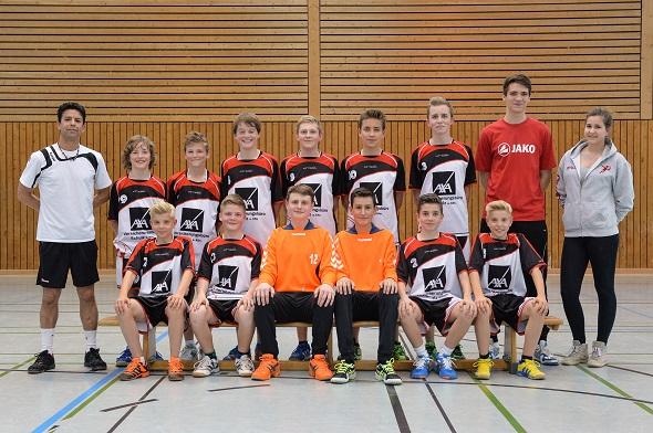 Männliche C-Jugend Mannschaftsbild 2014