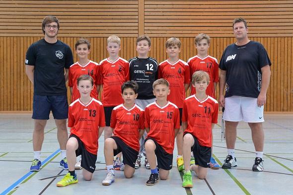 Männliche D-Jugend 2 Mannschaftsbild 2014