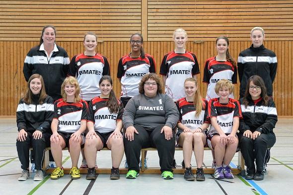 Weibliche A-Jugend Mannschaftsbild 2014