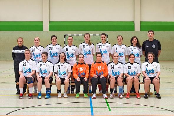 Damen 1 Mannschaftsbild 2014