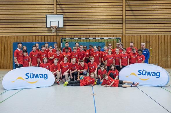 Süwag Handballcamp 21.03.2015