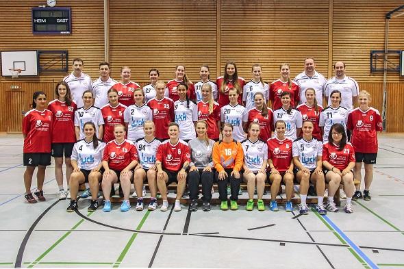 Damen 1 und 2 Mannschaftsbild 2015