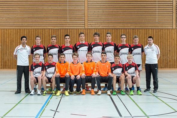 Männliche B-Jugend Mannschaftsbild 2015