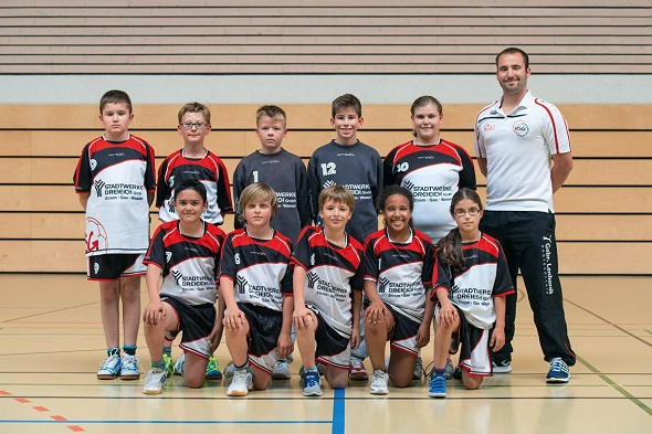 Männliche D-Jugend Mannschaftsbild 2015