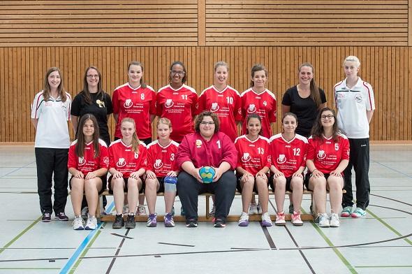 Männliche A-Jugend Mannschaftsbild 2015